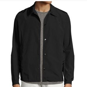 NWT Theory Technical Taffeta Black Coach Jacket